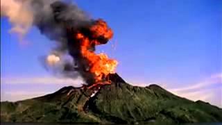 Download volcano erupting video