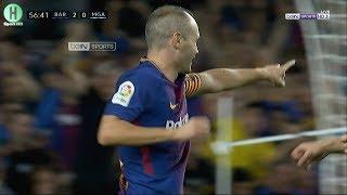 اهداف مبارة برشلونة  و مالاجا   2-0    الدوري الإسباني    21-10-2017   HD