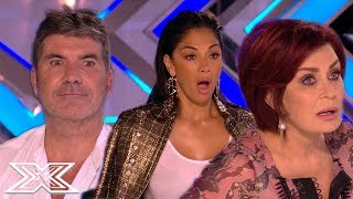 Top OUTRAGEOUS X Factor Auditions That Left The Judges In SHOCK | X Factor Global