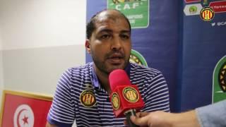 Espérance-Sundowns (0-0): Déclaration d'après-match de Mouine Chaabani