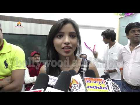 Actress Neha Bansal Attend Bhojpuri Music Director Damodar Raao Birthday Party