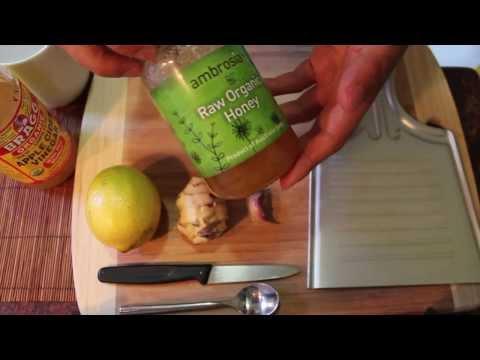 Powerful Traditional Raw Remedy Ginger + Garlic- Anti-Viral Anti-Bacterial Anti-Cancer Anti-Flu