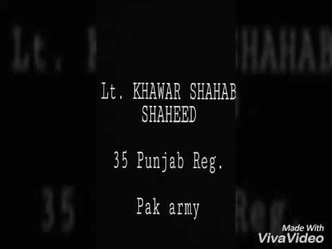Xxx Mp4 A Tribute To Lieutenant Khawar Shahab Shaheed 3gp Sex