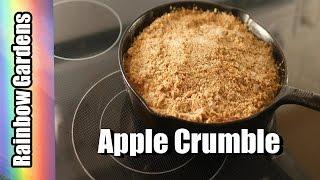 Apple Crumble / Crisp Recipe - How to Make Apple Crumble