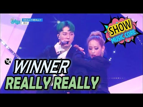 [Comeback Stage] WINNER(위너) - REALLY REALLY Show Music core 20170408