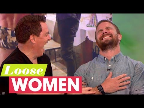 John Barrowman Teaches Stephen Amell What Budgie Smugglers Are Loose Women