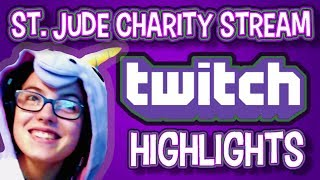 [Twitch] St. Jude Charity Stream Highlights #3