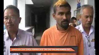 Dipenjara dan denda kerana aksi 'zig-zag' halang konvoi TYT