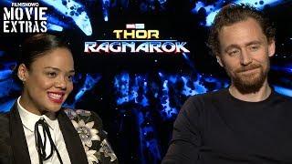 Thor: Ragnarok (2017) Tessa Thompson & Tom Hiddleston talk about their experience making the movie