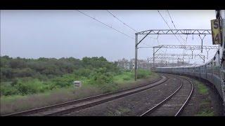 Onboard High Speeding Gitanjali Express - Early Morning Monsoon Grandeur Par Excellence !!!