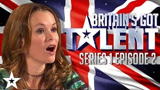 Britain's Got Talent Auditions Full Episode | Series 1 Episode 2