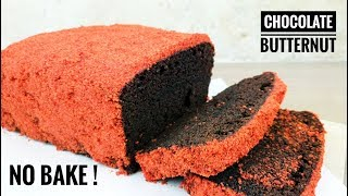How To Make Chocolate Butternut Cake | Choco Butternut Loaf | No Bake Choco Butternut Cake