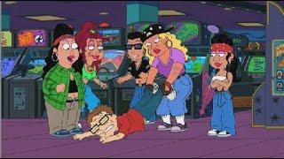 American Dad! Steve Joins a Girl Gang