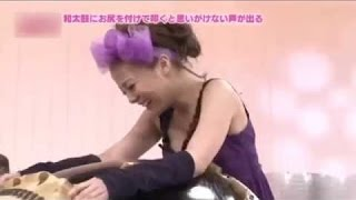 Japanese Girl Orgasm with Drum, Japan Weird TV Show