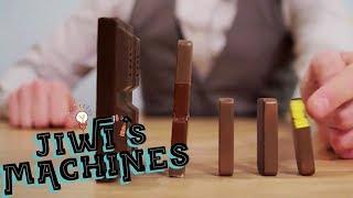 Chocolate Dominoes | Jiwi's Machines Ep 4 | Science Extra