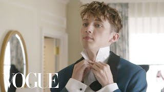Troye Sivan Gets Ready for His First Golden Globes | Vogue