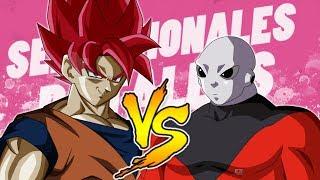 GOKU VS. JIREN || SENSACIONALES BATALLAS DEL RAP  || DRAGONBALL SUPER || MCPLAY Ft. MYSTOGAN
