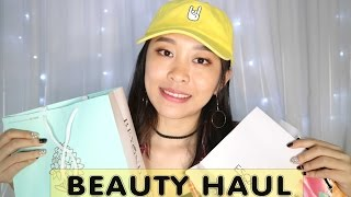 BEAUTY HAUL 2017 || POLKA, THE BODY SHOP, HOLIKA HOLIKA, THE SAEM, ETC || CHIKEZIA