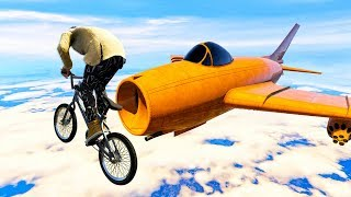 HOW I SURVIVED A 1000MPH PLANE! (Gta 5 Funny Moments)