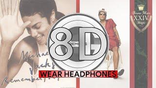 (8D Audio) Remember The Finesse - Micheal Jackson X Bruno Mars (HGC Remix)