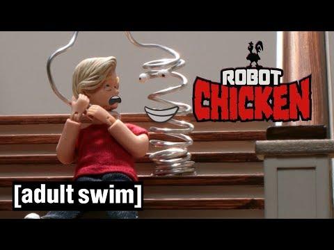 Xxx Mp4 Robot Chicken Slinky 39 S Revenge Adult Swim UK 🇬🇧 3gp Sex