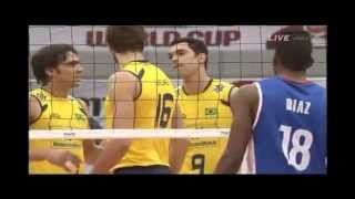 2011 WC Volleyball Cuba vs Brazil