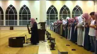 فجريه هادئه حزينه جدا للشيخ ناصر القطامي من سورة الحج 21 6 1432 مونتاج زيد صوافطه