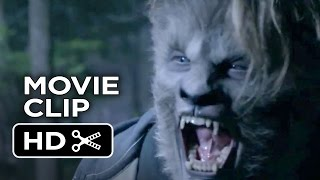 Wolves Movie CLIP - Fighting in the Woods (2014) - Jason Momoa, Lucas Till Horror Movie HD