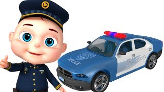 Police Car Assembly   Vehicle Construction For Kids   Videos For Toddlers   Videogyan Fun Videos
