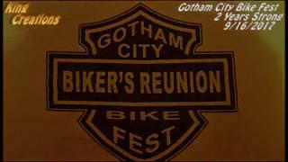 Gotham City Bike Fest Save The Date 9/16/2017