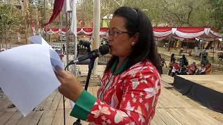 Gladi Bersih Pelantikan 48 Kades di Bukit Cinta Gununggajah