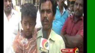 Tirupur Captain TV dengu attak in 15 child public collectorate muttrukai