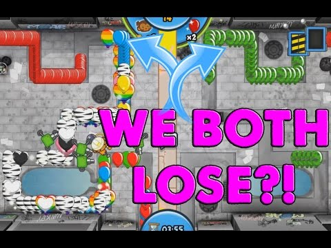 WE BOTH LOSE Bloons TD Battles High Arenas