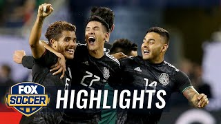 90 in 90: United States vs. Mexico | 2019 CONCACAF Gold Cup Highlights