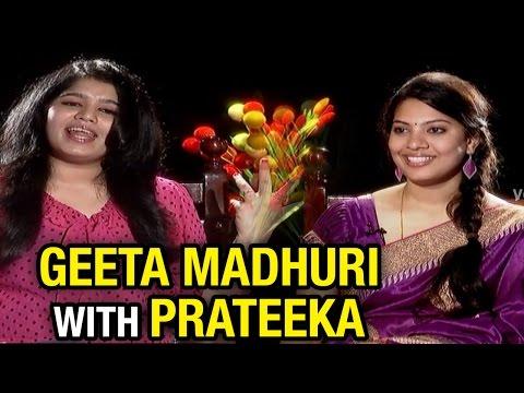 Singer Geetha Madhuri Chit Chat With Prateeka || V6 Prateeka Show || Pakka Hyderabadi