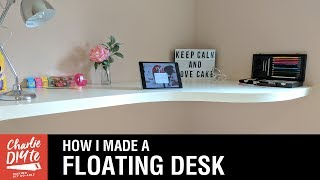 How to Make a Floating Desk