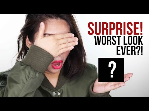 SOMEONE PICKED MY MAKEUP FOR ME Challenge (WORST LOOK SO FAR?!) | Raiza Contawi