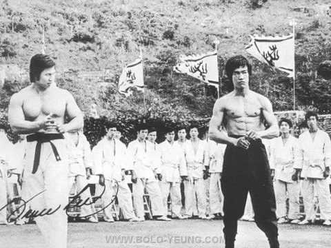bolo yeung and bruce lee