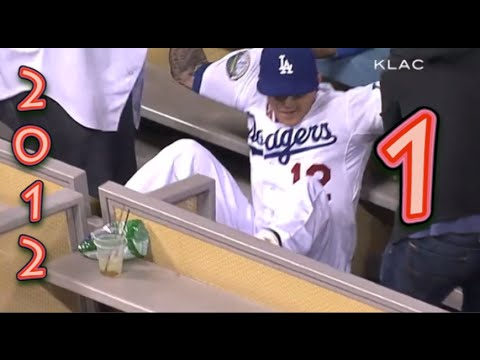 Funny Baseball Bloopers of 2012 Volume One