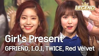Girl's Present (GFRIEND,I.O.I,TWICE,Red Velvet) [2016 KBS Song Festival / 2017.01.01]