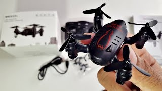 Amazing Tiny RC Drone with 720p Action Camera by Drocon