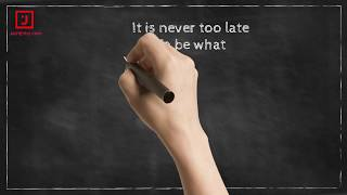 Never too Late - Positive Quotes