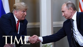 President Trump And Russian President Vladimir Putin Kick Off Their Finland Summit | TIME
