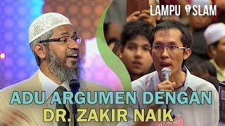 Bapak Ini Kembali Adu Argumen dengan Dr. Zakir Naik