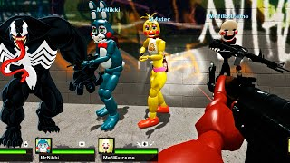Venom vs Animatronics do Fiive Nights at Freddy's