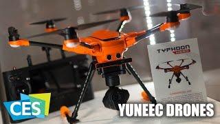 CES 2017: Yuneec Drones