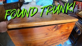 FOUND A TRUNK I Bought  Abandoned Storage Unit Locker Mystery Unboxing Storage Wars