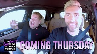 Coming Thursday: Adam Levine Carpool Karaoke