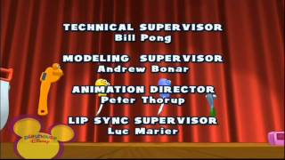 Playhouse Disney Scandinavia - HANDY MANNY - End Credits