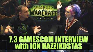 7.3 Interview with Ion Hazzikostas  | Gamescom 2017 | World of Warcraft Legion